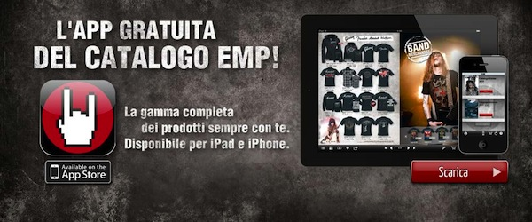 iPhone e iPad: arriva l'App del catalogo EMP!