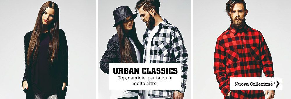 Urban Classics, la nuova collezione