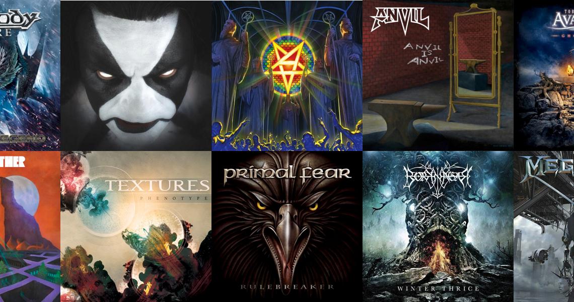I 10 album metal più attesi di inizio 2016!