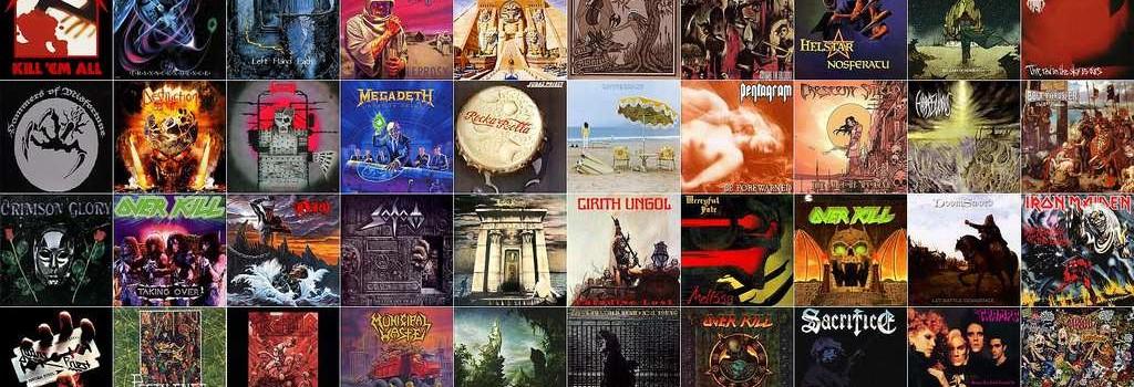 metal album covers