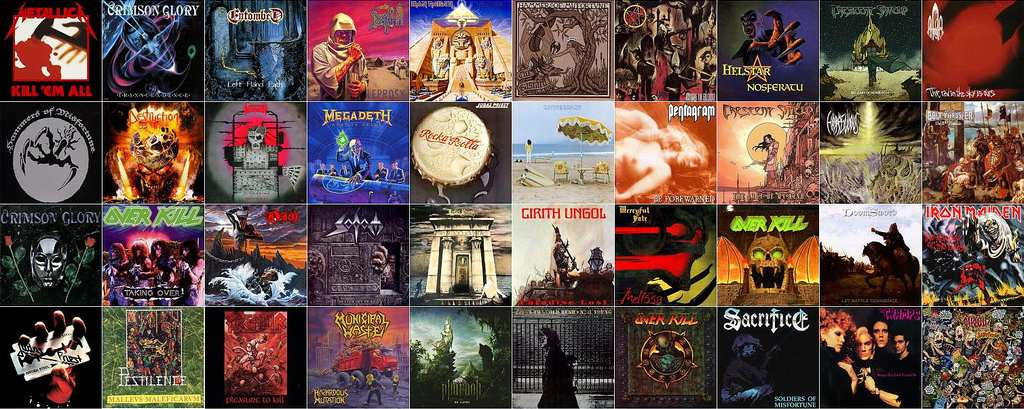 metal album covers