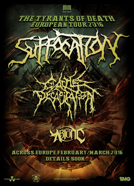 Suffocation Europe 2016