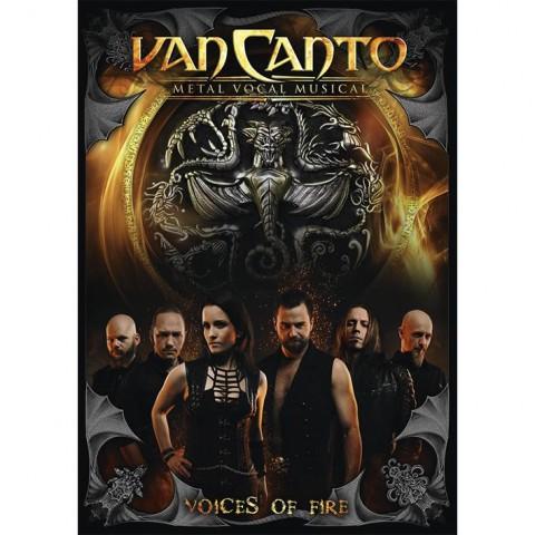Van Canto Voices Of Fire Mediabook Front