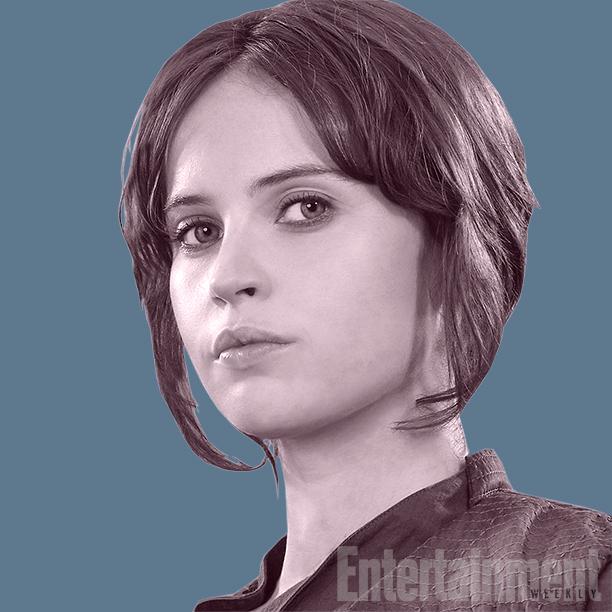 01 Jyn Erso (Felicity Jones) - Star Wars Rogue One