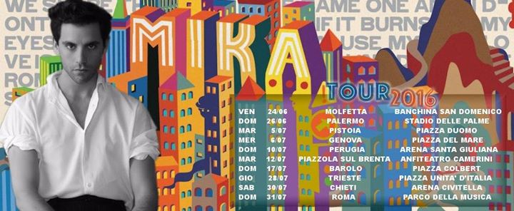 Mika Tour 2016