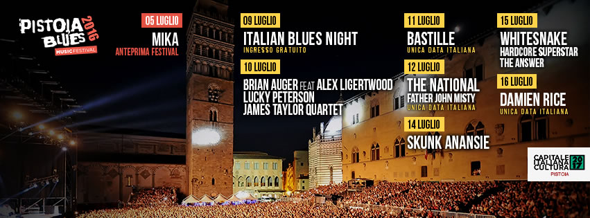 Pistoia Blues Header