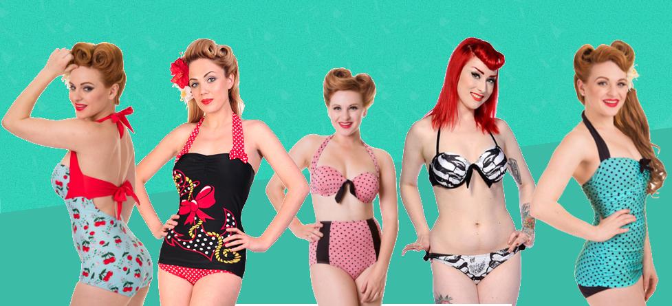 Costumi da bagno Banned: un'estate Vintage