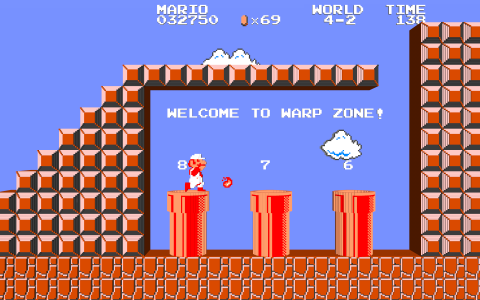 Super Mario - Warp Zone