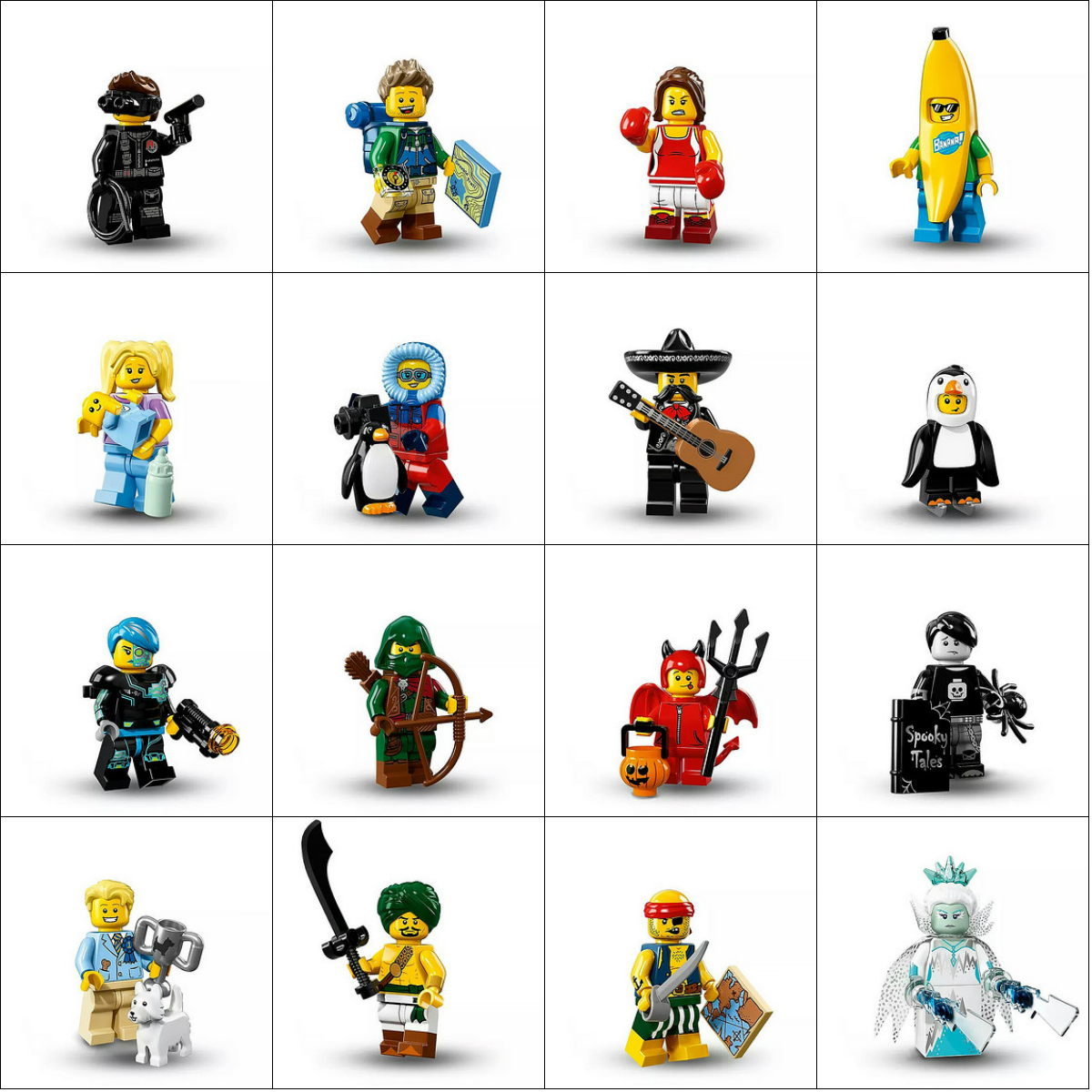 Collage Lego Minifigures