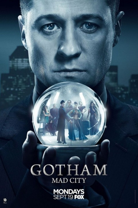Gotham - Mad City Season 3 Poster