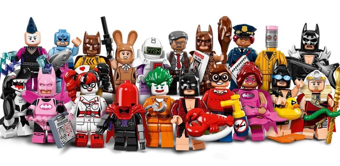 LEGO Batman – Il Film: diffuse le minifigures dei protagonisti e dei cattivi