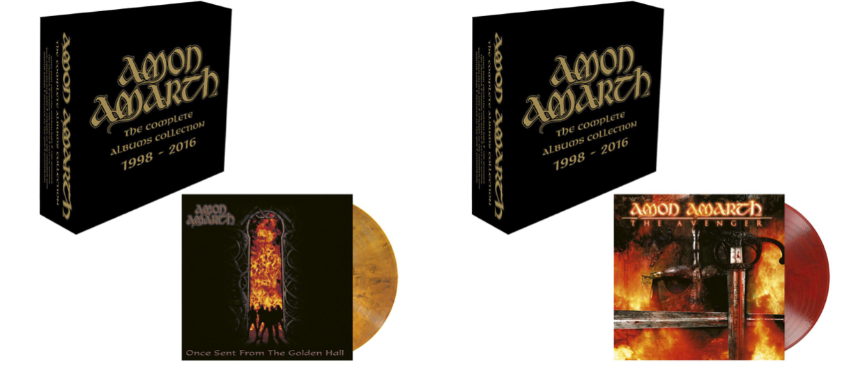 Amon Amarth Box Set 2017