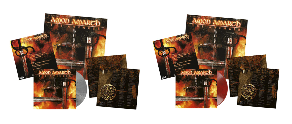 Amon Amarth - The Avenger - 2017 Vinyl