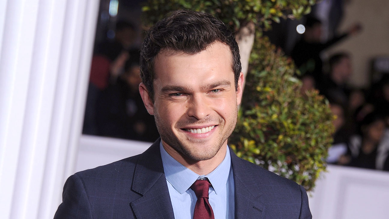 "WESTWOOD, CA - FEBRUARY 01: Actor Alden Ehrenreich arrives at the premiere of Universal Pictures' ""Hail, Caesar!"" at Regency Village Theatre on February 1, 2016 in Westwood, California. (Photo by Gregg DeGuire/WireImage)"