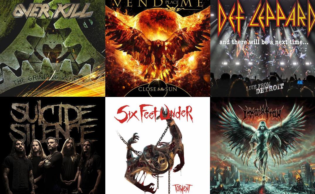I migliori album Heavy Metal e Hard Rock in uscita a febbraio 2017!