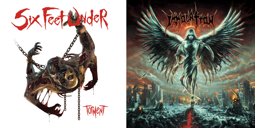 Six Feet Under vs Immolation: in uscita i nuovi album in edizione speciale