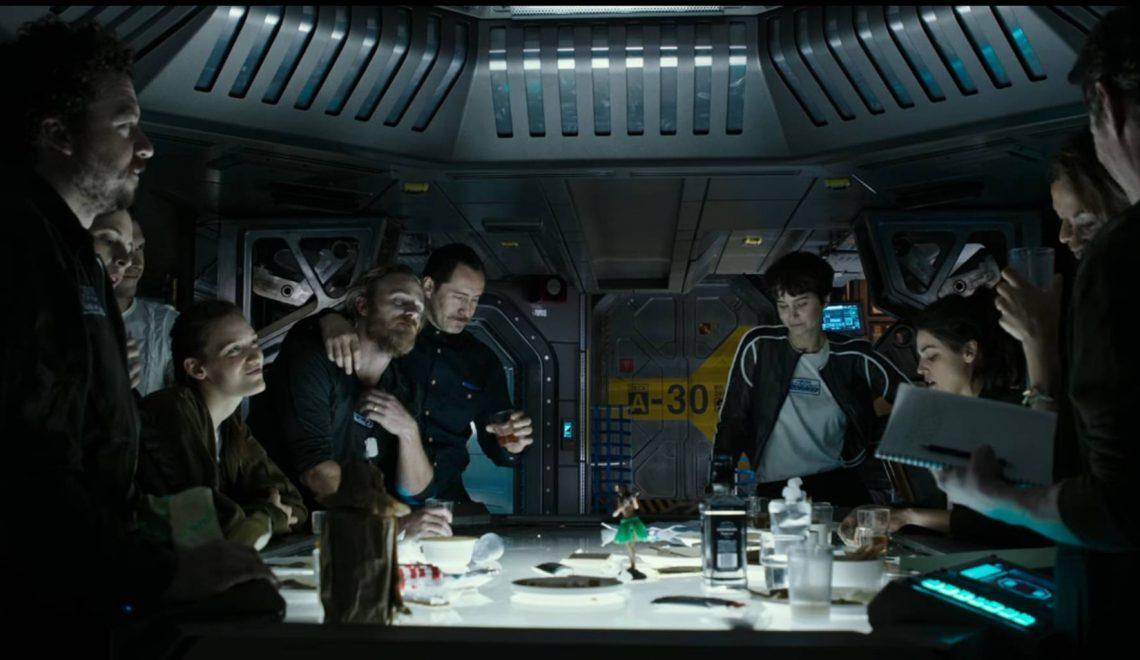 """Alien – Covenant: diffuso un prologo di 5 minuti intitolato """"L'Ultima Cena"""""""