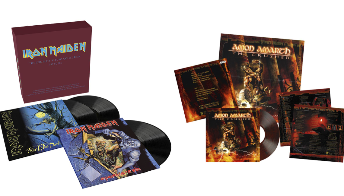 Iron Maiden, Amon Amarth, Hammerfall, Tool: tutte le nuove ristampe in vinile su EMP!
