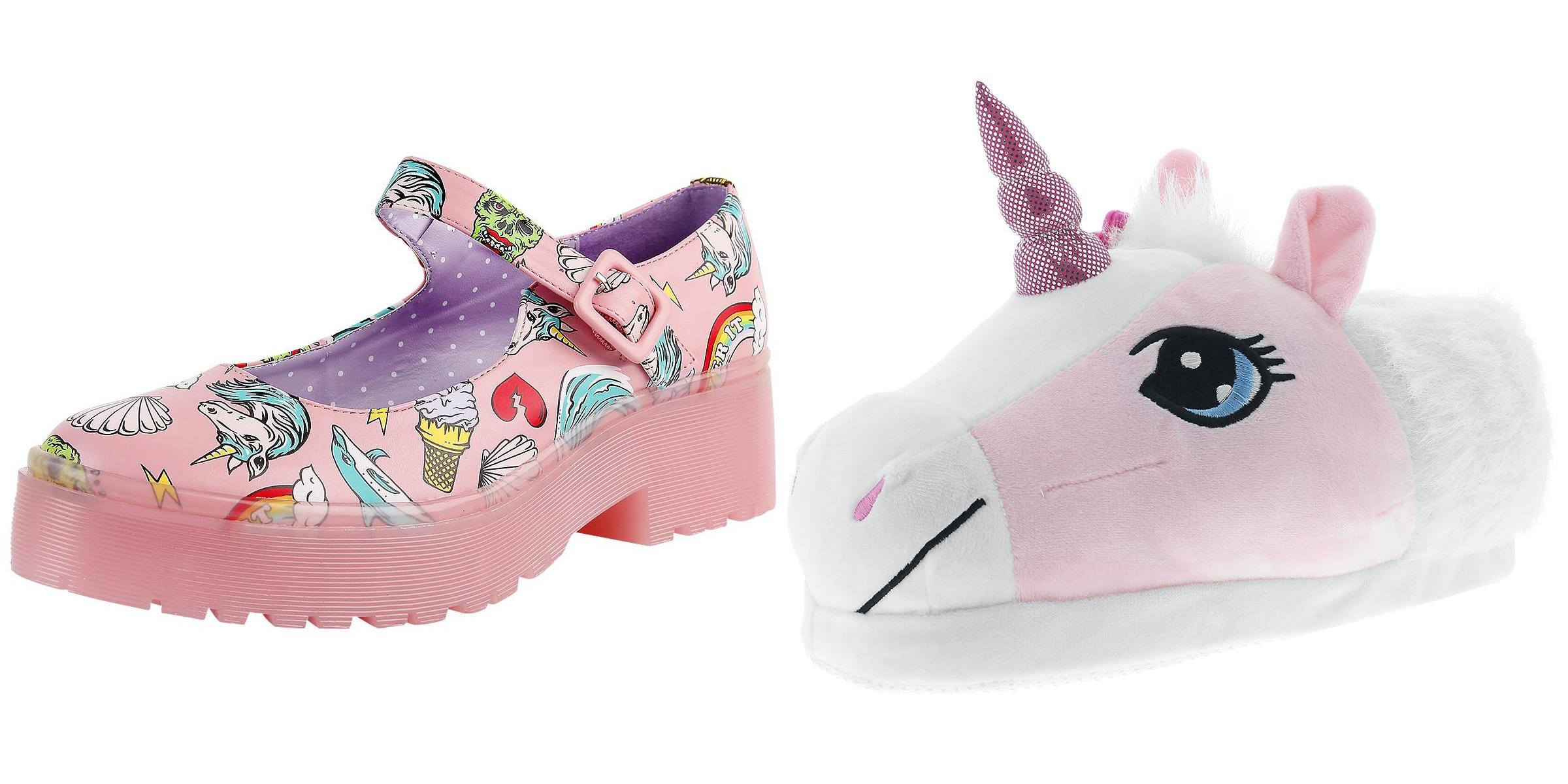 scarpe unicorno