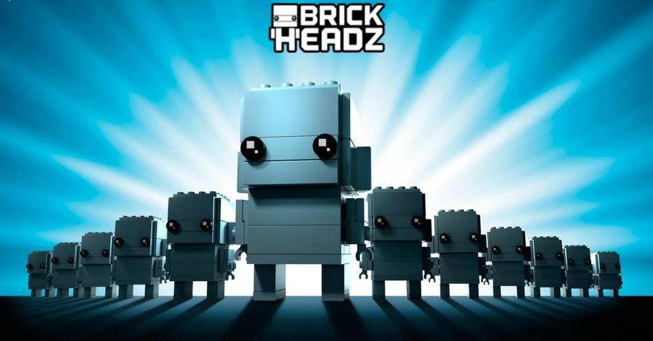 LEGO BRICKHEADZ: tre universi in uno, solo su EMP!