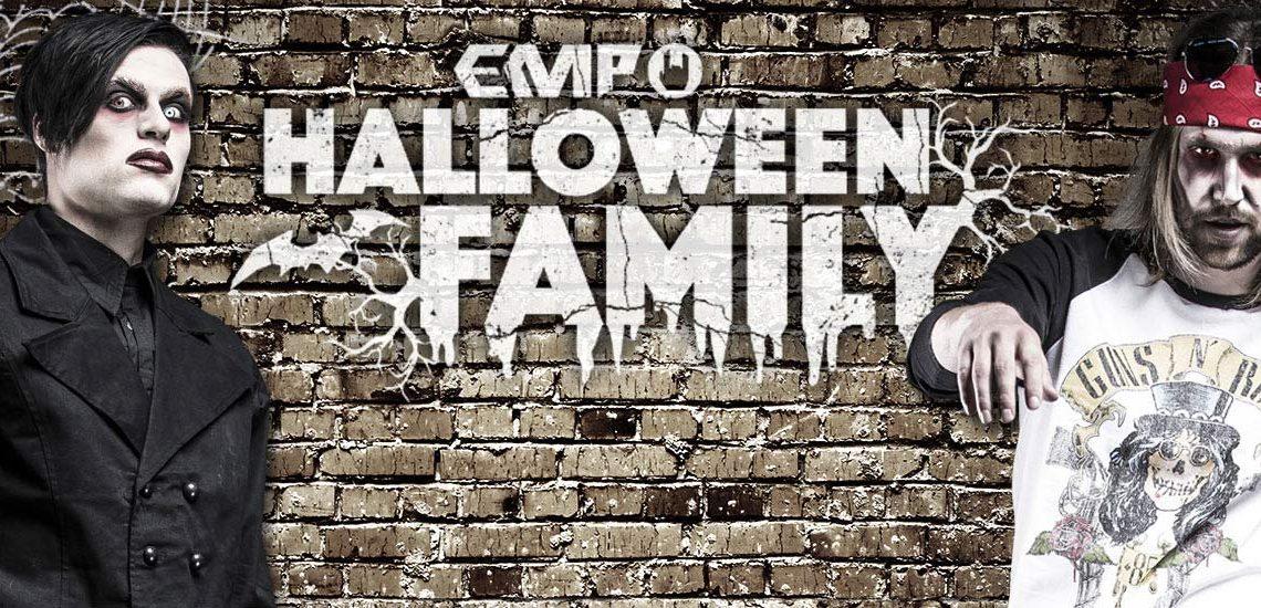 EMP Halloween Family: Zombie Axl e Marilyn Manson
