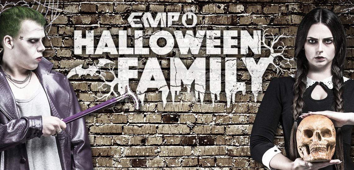 EMP Halloween Family: Mercoledì Addams e Joker