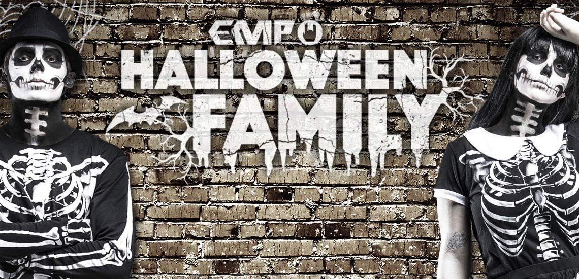 EMP Halloween Family: Mr. Skeleton & Mrs. Bones