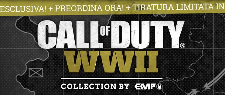 Call Of Duty WWII: La collezione esclusiva di EMP!