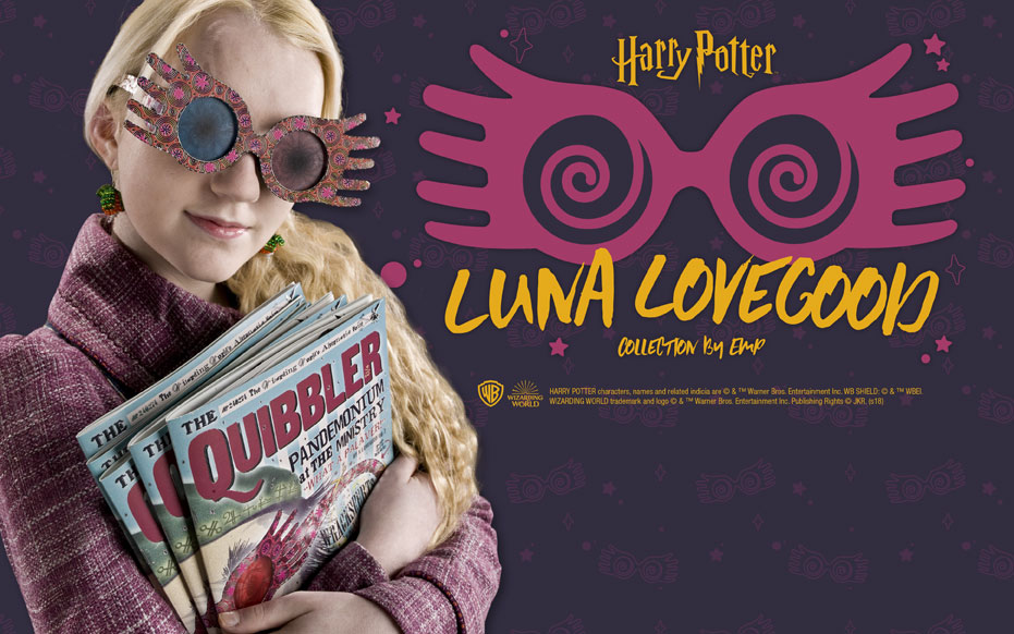 Harry Potter in esclusiva EMP: vieni a scoprire la Luna Lovegood Collection