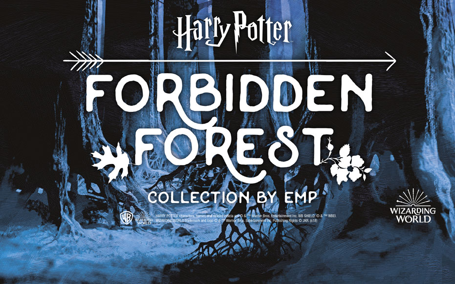 Harry Potter: è arrivata la Forbidden Forest Collection